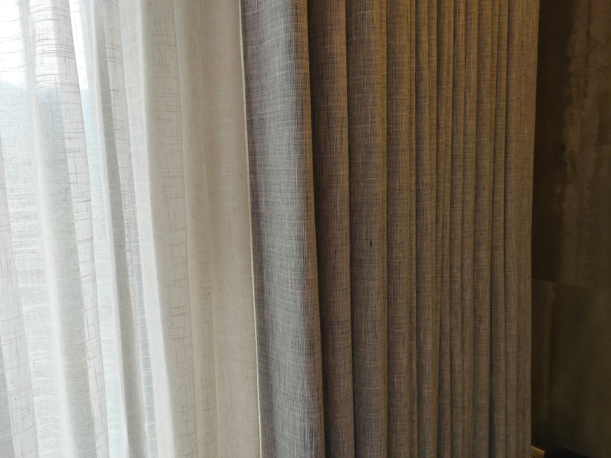 簡約純色遮光窗簾/加厚三
