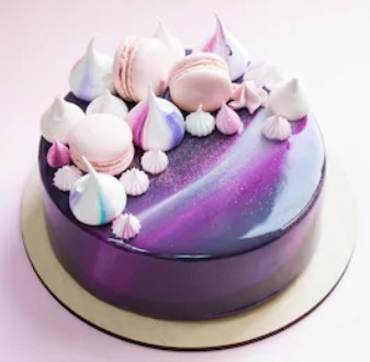 慕斯蛋糕-星河